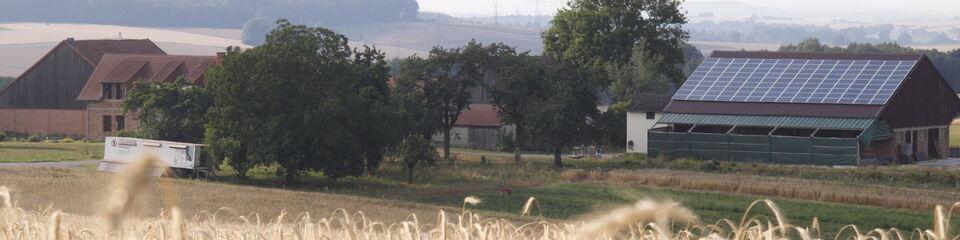 Der Wildhäuser Hof von Süden aus gesehen